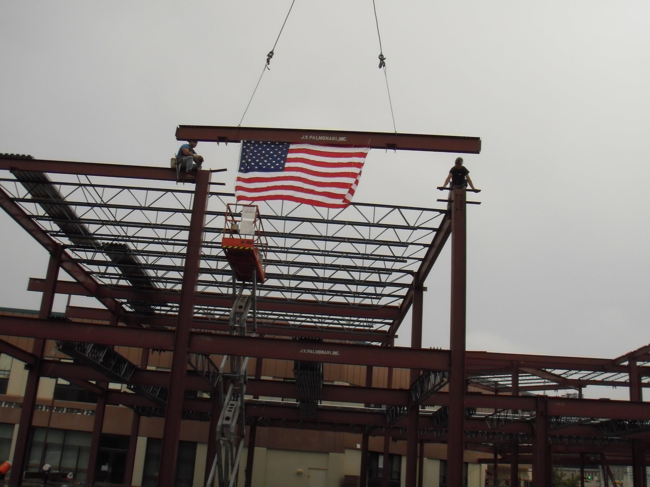Topping Off Ceremony at the Atlantic Cape Community College – Caesars Entertainment Wing